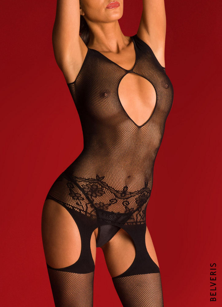 DANICA - Netz-Bodystocking